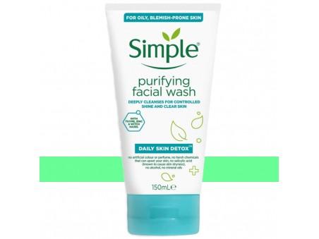 Simple Daily Detox Mycí a Čisticí Gel Na Obličej
